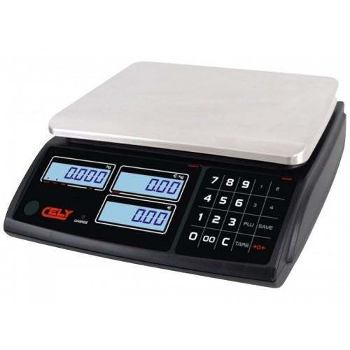 Cantar comercial Cely PI 100 3/6/15/30KG