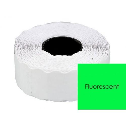 Etichete pret Verde Fluorescent 26x12mm
