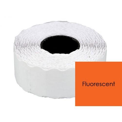 Etichete pret Portocaliu Fluorescent 26x12mm