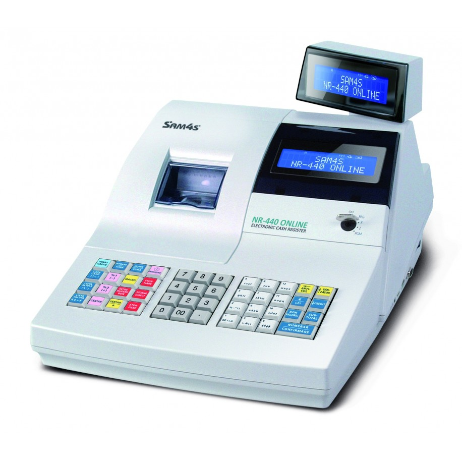 Casa De Marcat SAM4S NR-440 | ONLINE CU JURNAL ELECTRONIC