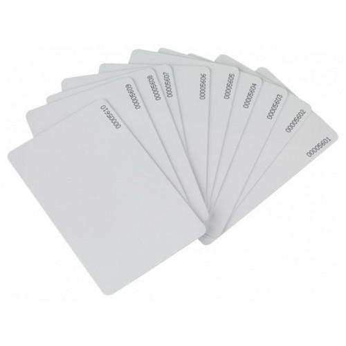 Card RFID alb